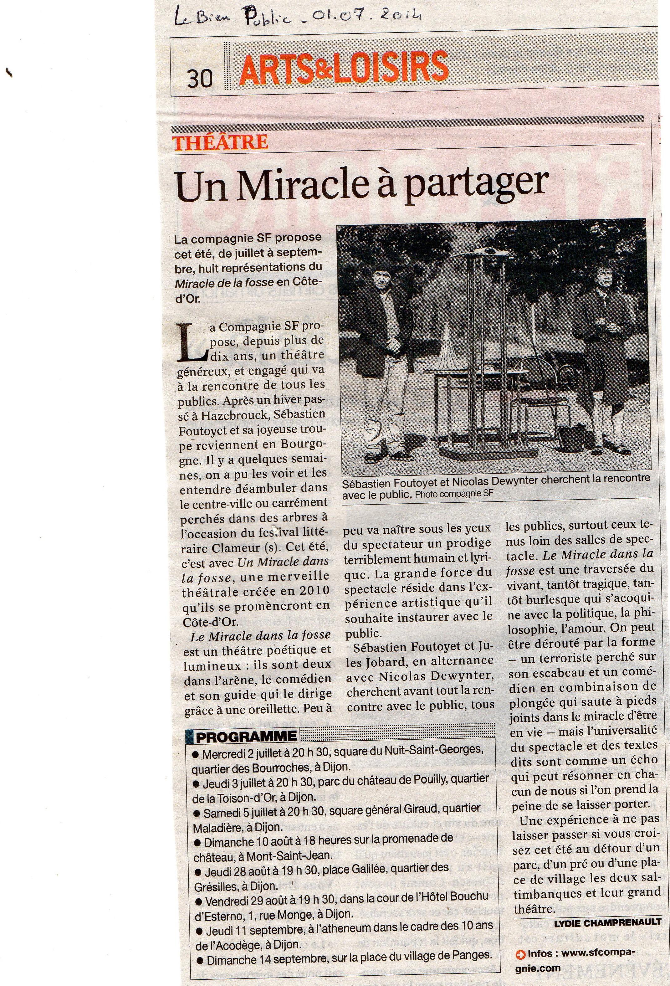 Merci à Lydie Champrenault pour ce bel article.